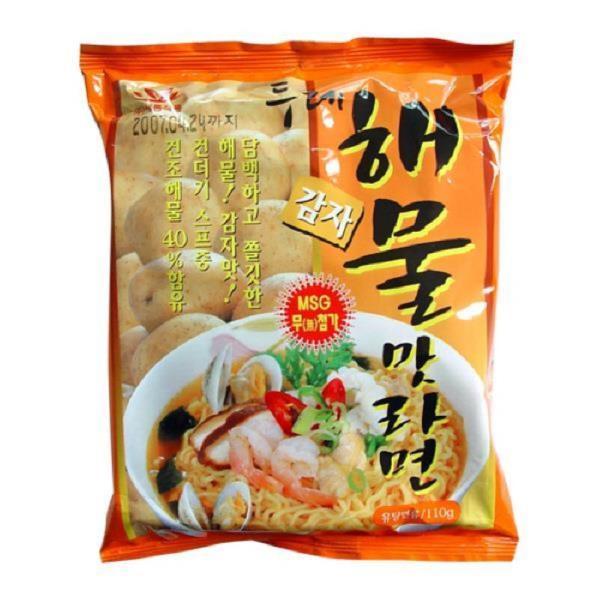 두레생협 감자라면(해물맛20개)박스