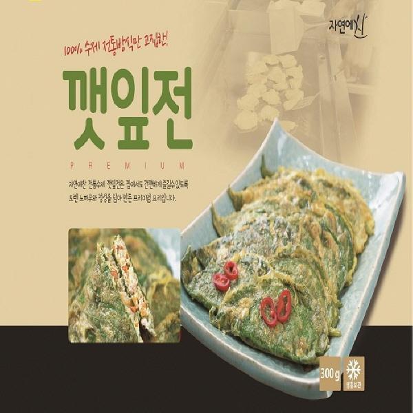 두레생협 깻잎전(300g)