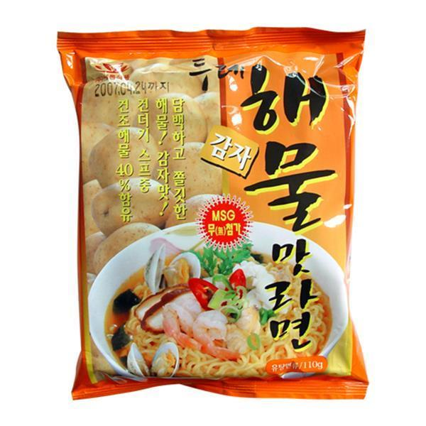 두레생협 감자라면해물맛(110gx20개) 1박스