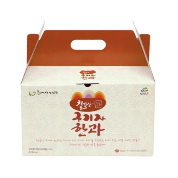 두레생협선물세트 칠갑산구기자한과(소)700g