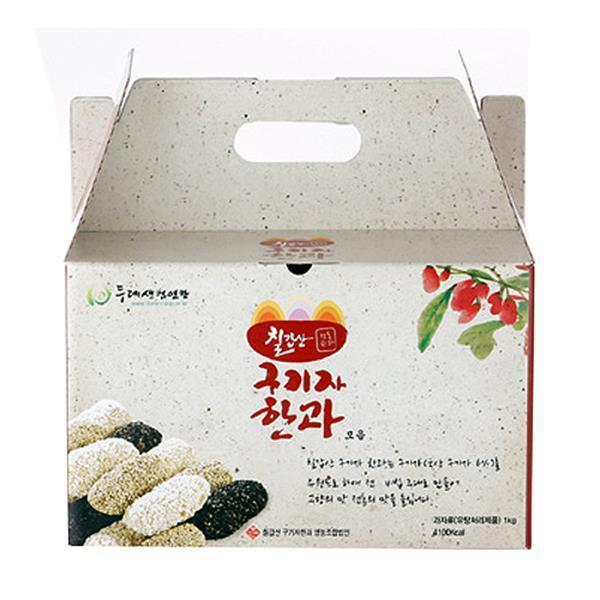 두레생협선물세트 칠갑산구기자한과모음1kg