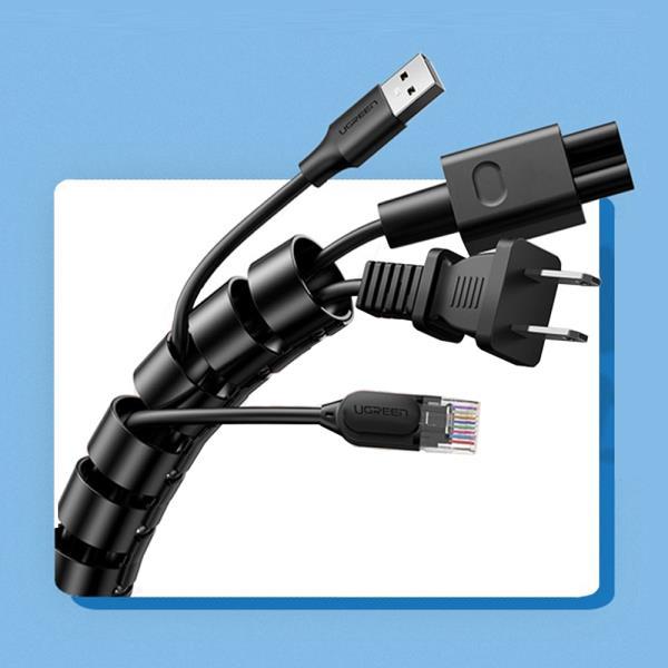 매직 케이블 선정리 컴퓨터 전기 클립사무실1.5mx32mm