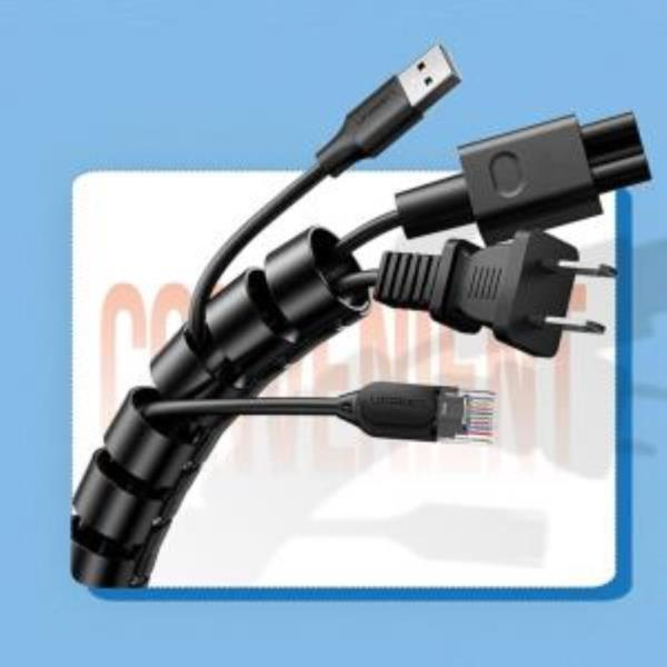 매직 케이블 선정리 컴퓨터 전기 클립사무실1.5mx20mm