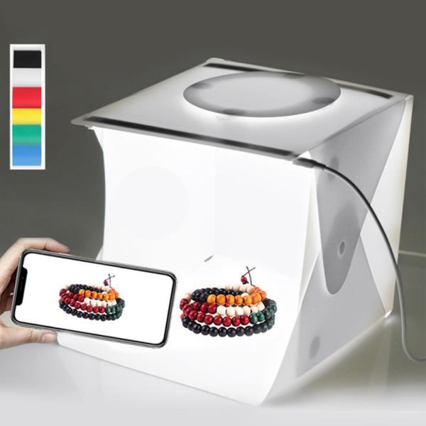 포토박스 셀프미니 스튜디오 사진관촬영 LED 제품40Cm