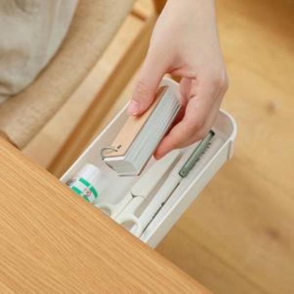 틈새수납정리함 책상정리 주방서랍 부착형 언더테이블