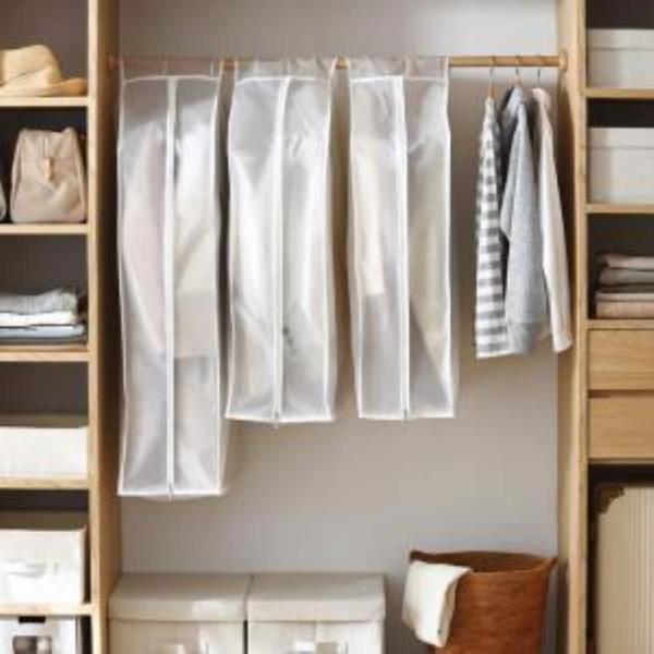 옷커버 행거커버 의류 비닐 옷장 투명 정리 보관 A