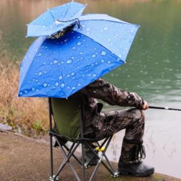 패션소품 양산 수동양산 우산모자 낚시 머리에쓰는 양산 햇빛가리개 우양산 77