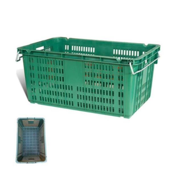 사각 플라스틱 바구니 농산물 대형 운반 상자 1개