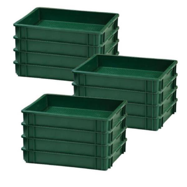 플라스틱 운반 두부 상자 어묵 떡 박스 재생 20개