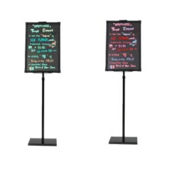 led 네온 보드 형광 칠판 카페 입간판 배너 광고판