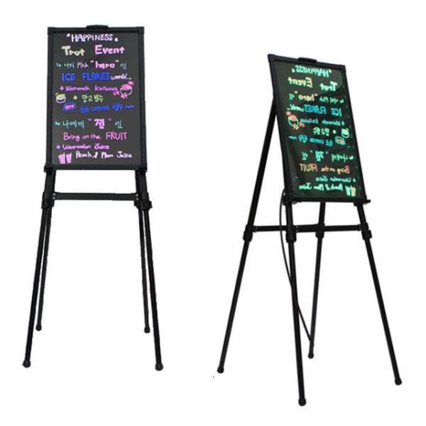led 배너 형광 칠판 네온 보드 카페 입간판 광고판