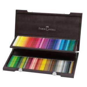 파버카스텔 전문가용 수채색연필 120색 우드케이스
