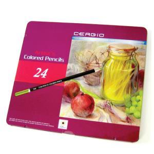세르지오 일반 색연필 24색