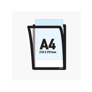 마그피아 알리미케이스 A4 유리용 실리콘접착