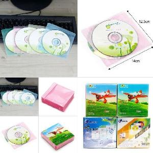 부직포 타입 CD보관 더블케이스(100장)