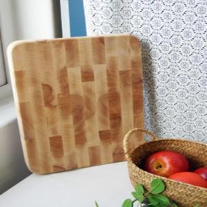 독일 클라베 통나무 도마 주방 실리콘 디자인