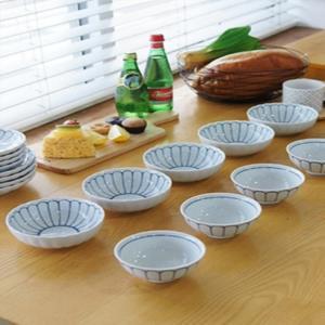 로터스 공기 5P세트 대접 5P세트 면기 그릇