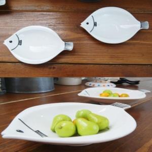미니피쉬 볼 2P세트 플레이팅 주방 식기 접시