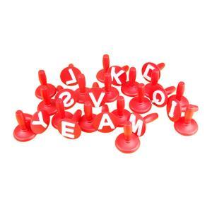 프리미엄스탬프 알파벳 모양 26종세트 스템프