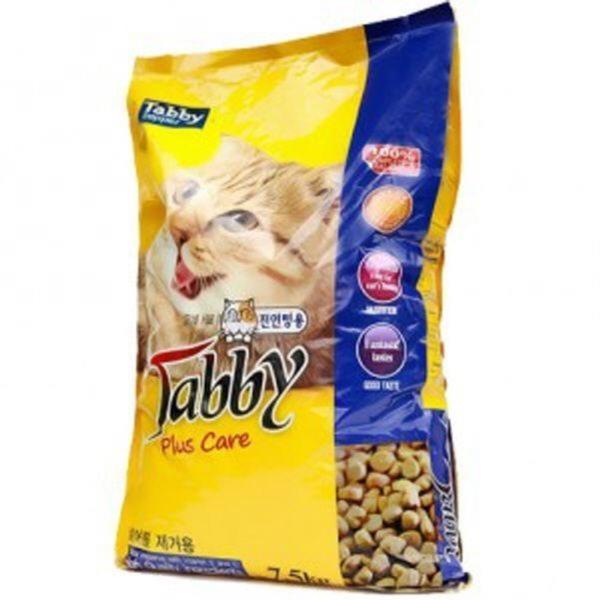 Tabby 플러스케어 고양이사료7.5kg 1개