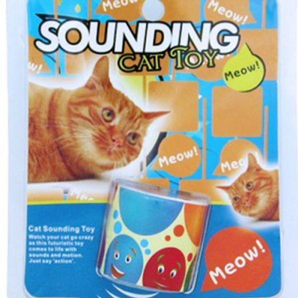 고양이 하우스 놀이터 캣타워 메이트 흔들림에 야옹 사운드 소리나는 장난감 캣츠