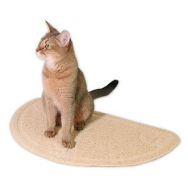 고양이 화장실 모래 위생 매트 25X22cm 논슬립 사막화를 줄여주는 모래매트 발판
