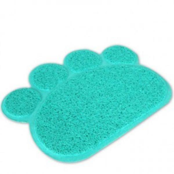 펫라이프 포우 미니 모래매트 (블루)