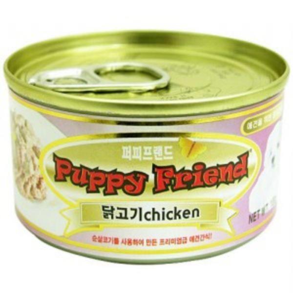 퍼피프랜드 닭고기캔-100g