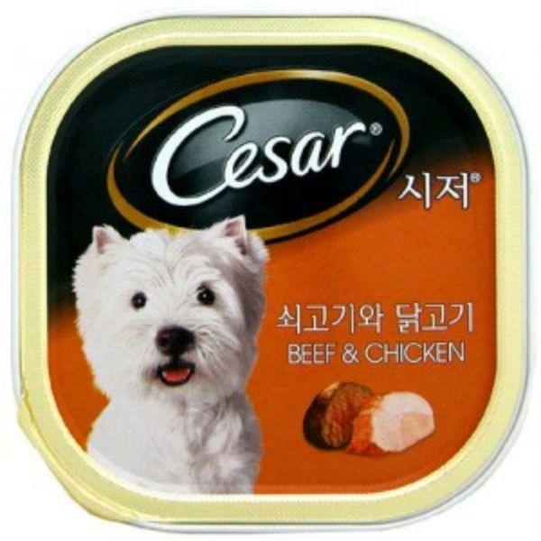 시저캔 (쇠고기와닭고기)