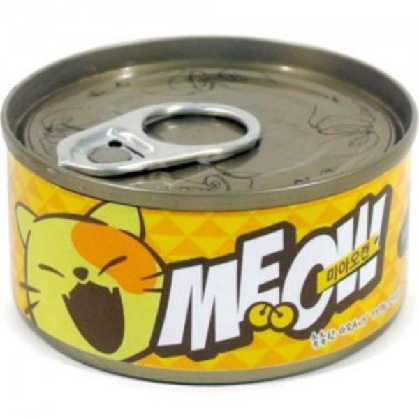 미아오캔 치킨+참치 (그레이비타입 고기육수캔) 85g