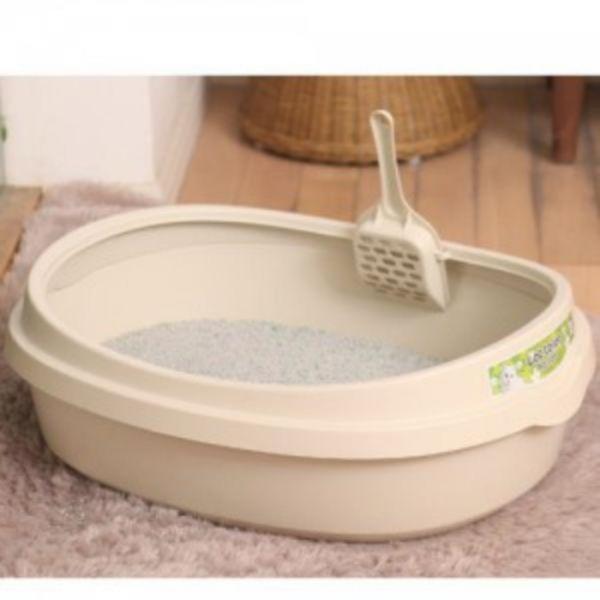 푸르미 고양이 화장실 (대) - 아이보리