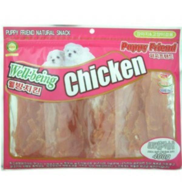 퍼피프랜드 치킨 DHA닭가슴살 400g