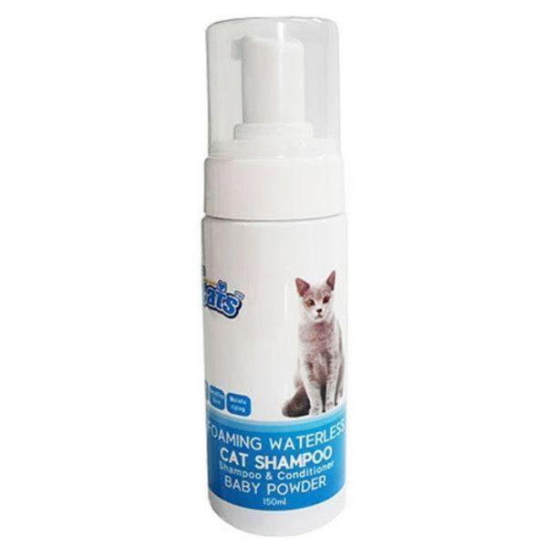 더캣츠 고양이 거품샴푸 150ml - 베이비파우더향