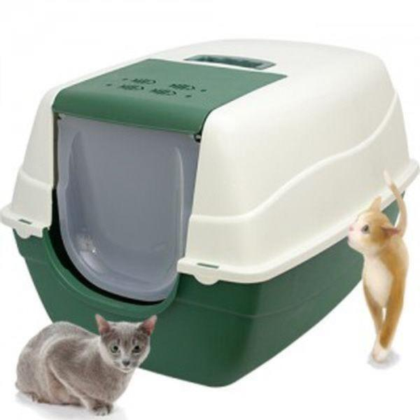 엠펫 초대형 고양이 화장실 CAT-L16 - 그린