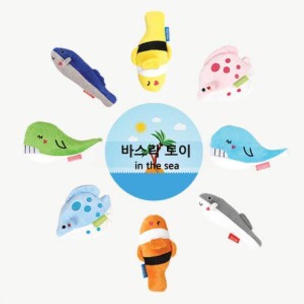 패리스독 해양동물 바스락토이 (종류임의배송)