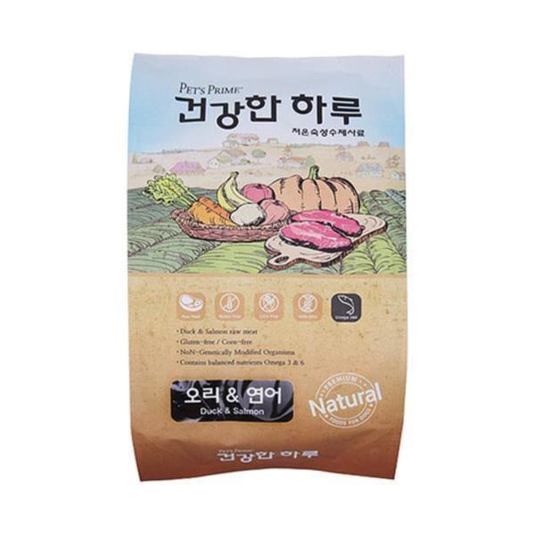 펫츠프라임 건강한하루 오리&연어 1kg(저온숙성 수제사료)