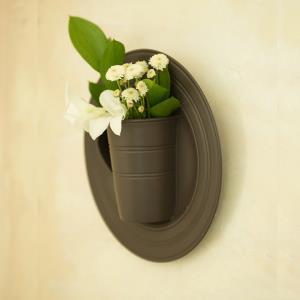 벽걸이 디자인 화병 (심플 컵 스타일)