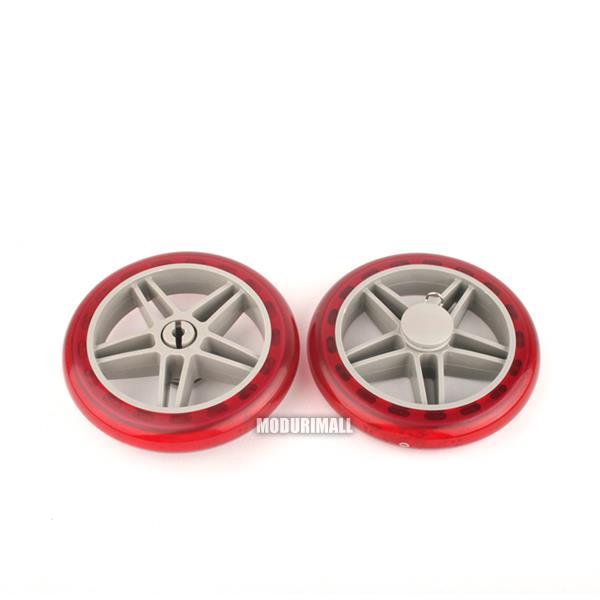 시장가방 우레탄바퀴 교체용2p 핸드카트 장바구니 용