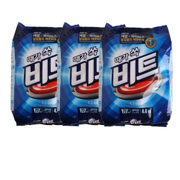 때가쏙 비트 리필 4.4kg 3팩