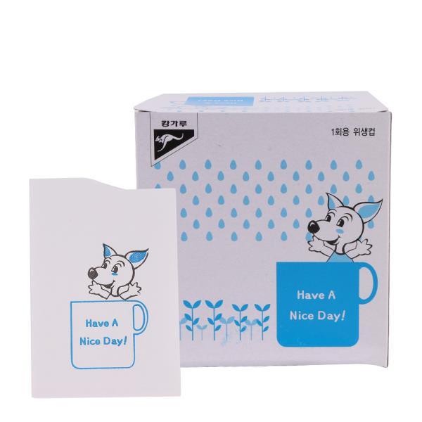 캉가루 1회위생용종이컵 4000개 1BOX