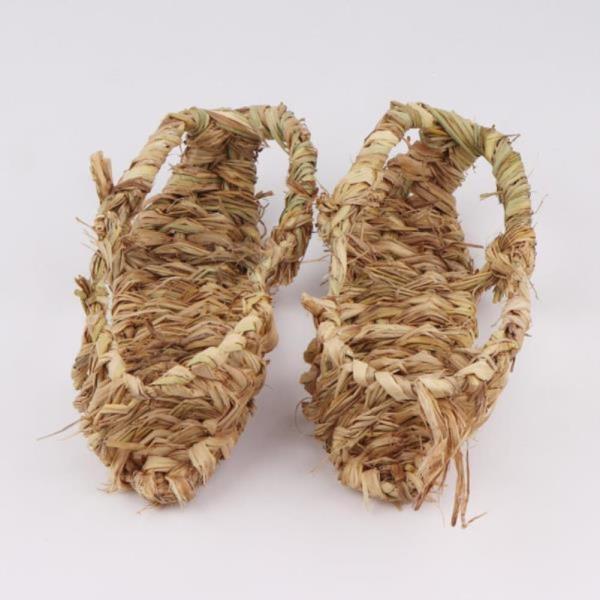 여성용 옛날신발 짚신(소)
