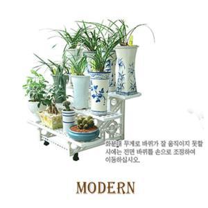모던이동식화분정리대3단