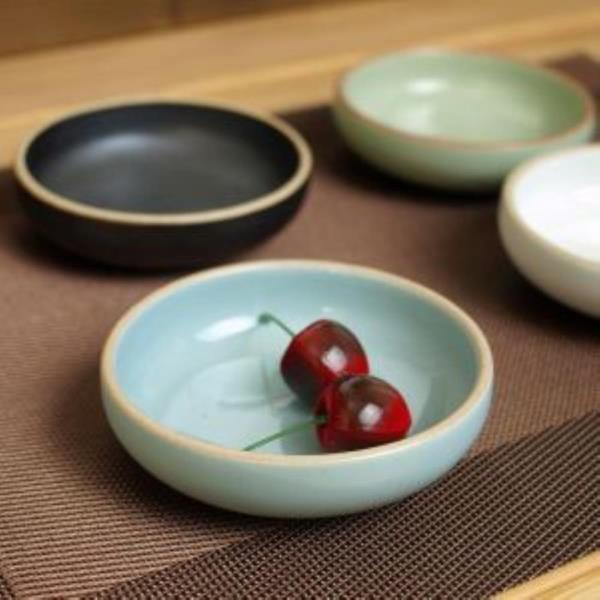 소야 여주도자기 아름 블루 오목종지 그릇(간장)1P