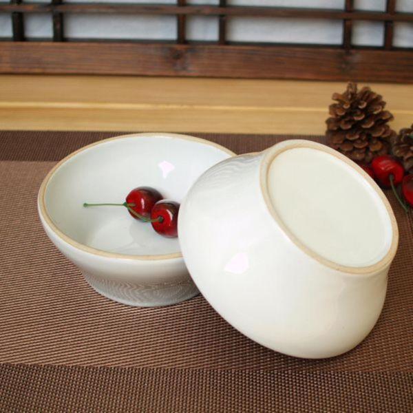 소야 여주도자기 아름 화이트 대접(국그릇) 1P