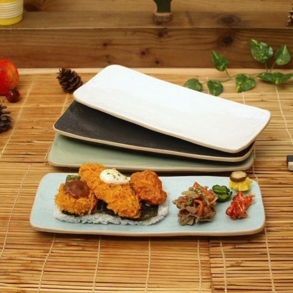 소야 아름 직사각 접시 그릇(소)