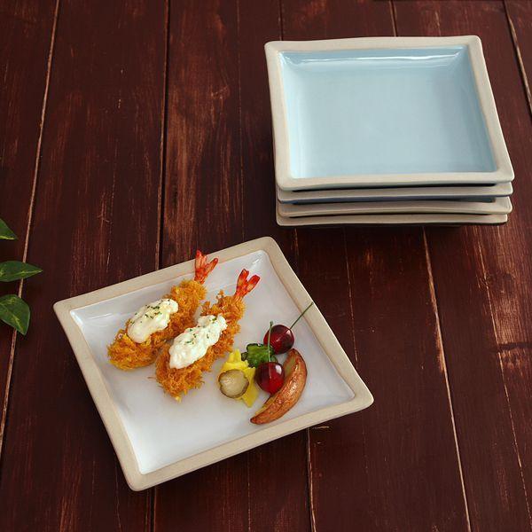 소야 아름 민사각부페 접시 (5컬러)