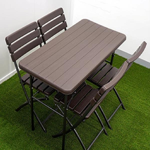 접이식 테이블 매대 일자형 다용도 디피용 상품매대 이동식매대 행사용 다용도 인테리어 우드 간이 캠핑 야외 코스트코