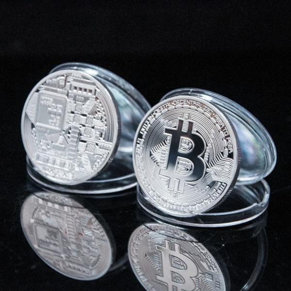 비트코인 데코 기념 장식 주화 가상 암호화폐 BitCoin