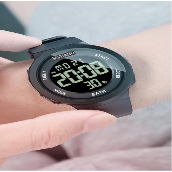 1Plus1 디지털 MSTIANQ 스포츠 손목시계 와치 5ATM