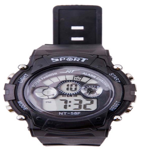 1Plus1 디지털 NT Black 스포츠 손목시계 와치_56F